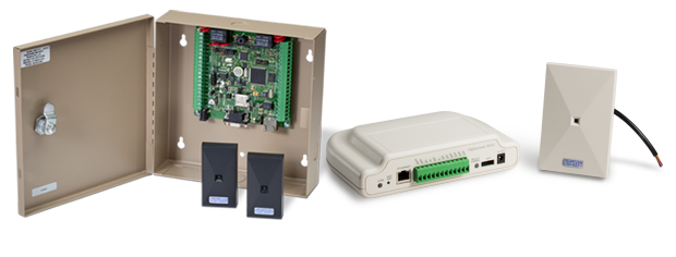 Our access controllers come in several configurations